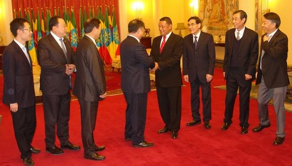 Ethiopia's President, Chinese Company Chairman Discuss Progress of