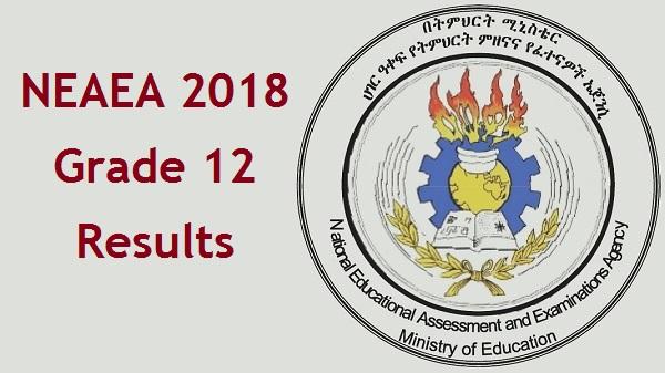 NEAEA The 2018 Grade 12 Exam Results Released Semonegna